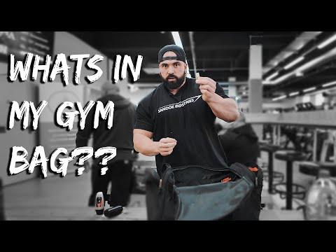 Luke Sandoe what is in my gym bag