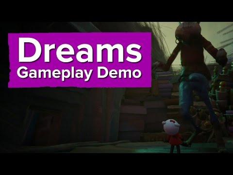 Dreams Gameplay Demo - Paris Games Week 2015 (PS4 Gameplay)