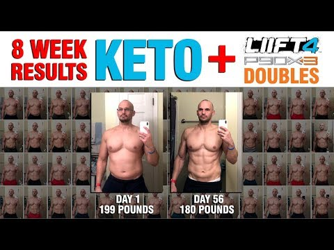 8 Week Keto Diet + LIIFT 4 Results & Review - 19 POUNDS!