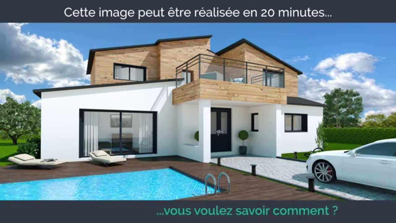 My sketcher logiciel d 39 architecture 3d youtube for Construction maison logiciel