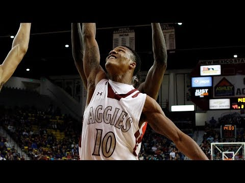 HIGHLIGHTS: New Mexico State Gets By Davidson | Stadium
