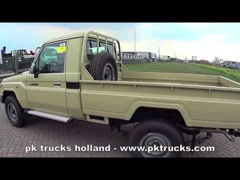 pktrucks toyota land cruiser hzj79l 4x4 pick up youtube. Black Bedroom Furniture Sets. Home Design Ideas