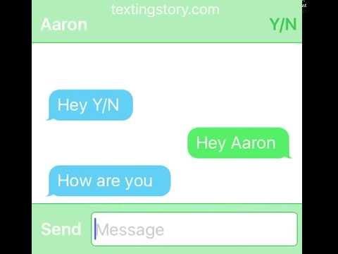 Aaron x Reader (part 2)