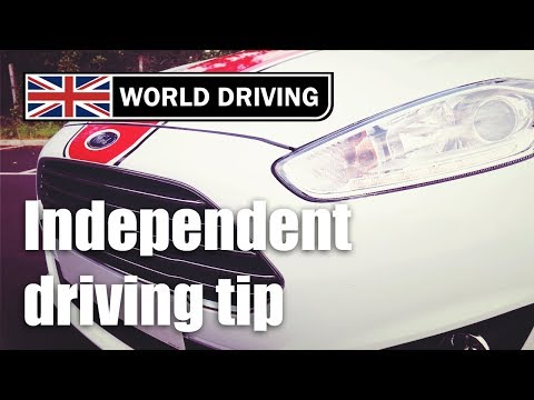 Simple Independent Driving Test Tip To Remember