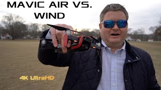 How Well Does the Mavic Air Handle Wind?
