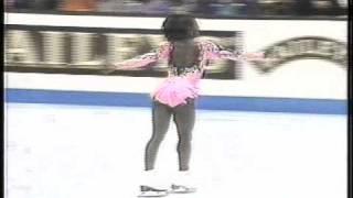 Surya Bonaly (FRA) - 1994 World Figure Skating Championships, Ladies' Free Skate