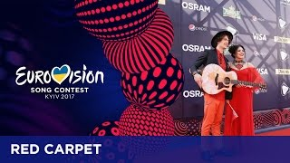 42 Artists rise up in Eurovision red carpet atmosphere