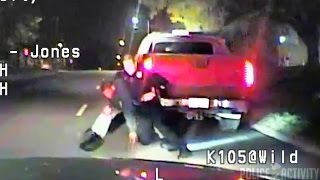 Police Dashcam Video in Shooting That Paralyzed Jerime Mitchell