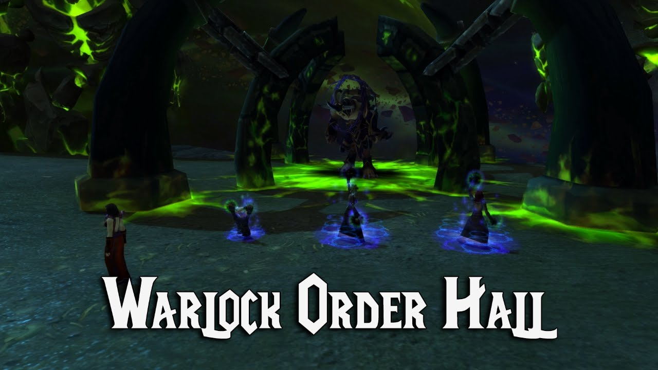 Where To Find Every Legion Class Order Hall Location - YouTube |Class Order Halls Map