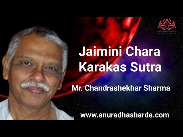 Jaimini Chara Karakas by Chandrashekhar Sharma ji