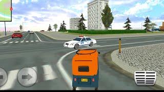 Auto rickshaw   Tempo wala game   Auto rickshaw drawing   Android gameplay   watch bhai screenshot 5