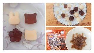 在家做可樂/益力多軟糖 Homemade Fettuccine Gummy Cola Gummy / Yakult Gummy
