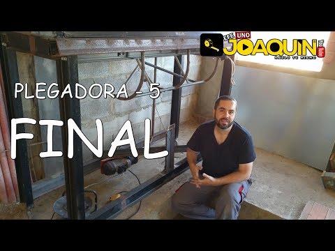PLEGADORA DE CHAPAS CASERA 5 ( FINAL )