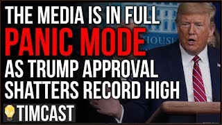 Media In Full PANIC MODE As Trump's Approval Shatters Record High, Media DEMANDS Trump Briefing