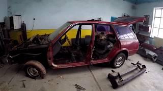 Оффроуд на повседнев. Subaru Leon(Loyale). Начало работ