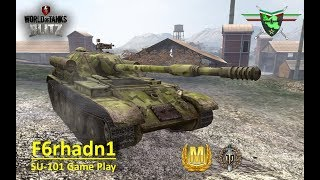 SU-101 Game Play Ace Tanker - World Of Tanks Blitz