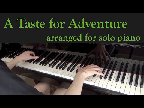 S A Taste for Adventure Homestuck for Piano