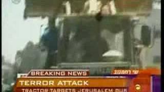 Jerusalem Tractor Terrorist