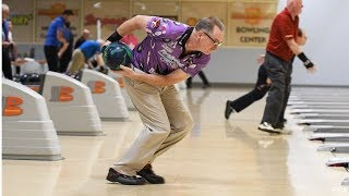 2 handed bowling. Is it cheating or an unfair advantage? Video