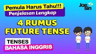 Download lagu 4 Rumus Future Tense dalam Bahasa Inggris   Tenses 16   Joesin