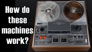 Exploring a Reel to Reel Tape Recorder: Sony TC-366
