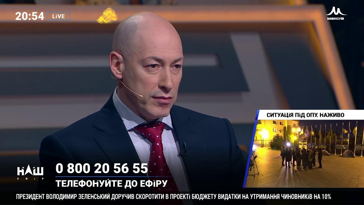 Гордон о том, почему украинцам нужно принимать участие в российских политических ток-шоу