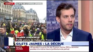 Gilets Jaunes: Damien Lempereur débat sur LCI