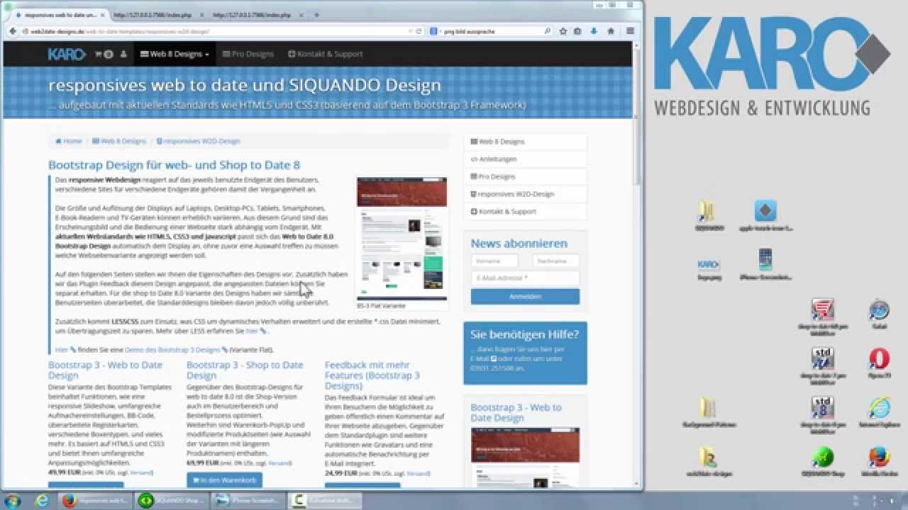 Charmant Bootstrap Vorlagenseite Zeitgenössisch - Beispiel Business ...