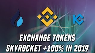 BNB up 120% in 2019 | The craze of exchange tokens thumbnail