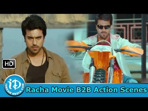 Racha Movie - Best Telugu Action Sequences - Back to Back Fight Scenes thumbnail