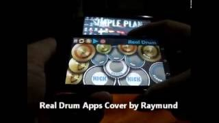 Simple Plan - Perfect (Real Drum App. Cover by Raymund)
