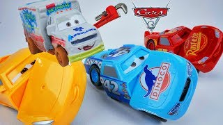 Cars 3 Race and Reck Dr Damage has Fun with Cal Weathers Piston Cup 800 Funny Video