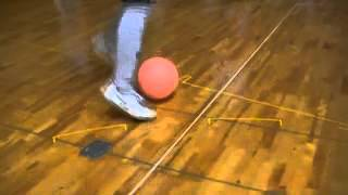 Repeat youtube video JSCCHIBA ジュニアユース ドリブル練習 テクニック練習