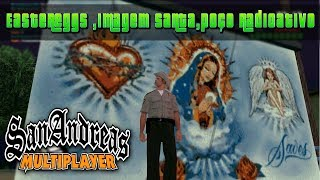 GTA San Andreas SAMP - EasterEggs Cabulosos e Imagem Santa