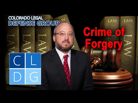 """5 acts that could get you busted for """"forgery"""" in Colorado (CRS 18-5-102)"""