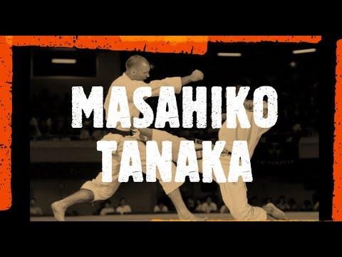 Masahiko Tanaka. Shotokan Karate Kumite Waza