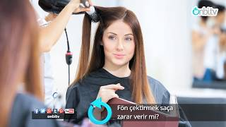 Fön saça zarar verir mi? #saçbakımı #fön