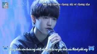 [Vietsub+Kara] Model - Vương Tuấn Khải - Concert mừng sinh nhật 16 tuổi