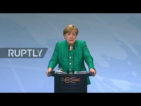 LIVE: G20 Summit in Hamburg: press conference by Merkel