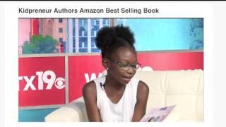 wltx news 19 columbia kidpreneur authors amazon best seller