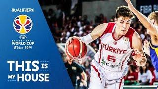 Cedi Osman - Turkey | Top Plays Rd.1 | FIBA Basketball World Cup 2019 European Qualifier