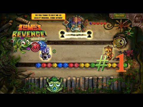 Zuma's Revenge Adventure #1 (Zone 1-2) - เปิดตำนานการผจญภัยของกบยิงลูกบอลอีกครั้ง