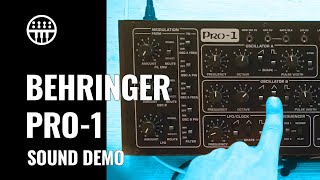 Han(d)s only | Behringer PRO-1 Sound Demo | Thomann