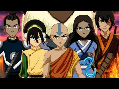 The Legend of Aang and Korra (all grown up and time goes by)