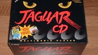 Atari Jaguar CD Video Game Console - James & Mike
