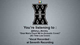 @Wahyu_Marizky ft @Jefriirsyad - Dear Maria Count Me In Acoustic Cover