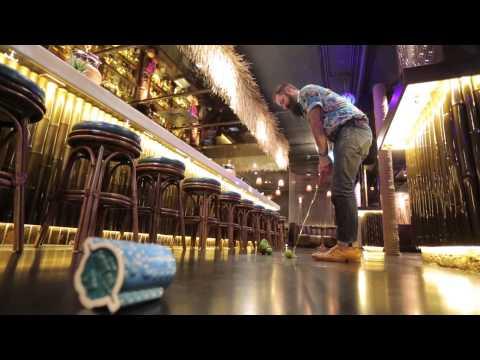 Three Dots And A Dash: Paul McGee's Tiki Golf Challenge