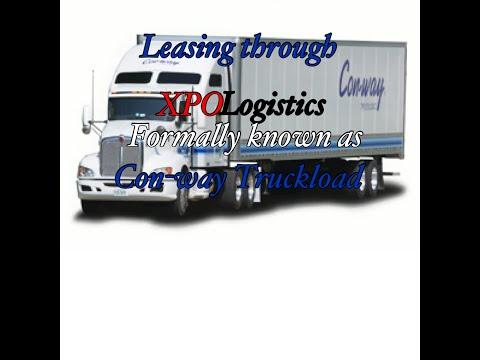 Leasing Through Conway/XPO Logistics Vlog#8