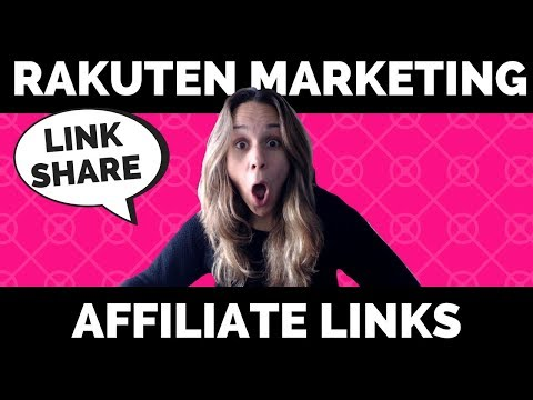 How to Build an Affiliate Link for Rakuten Marketing (formally LinkShare)