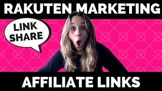 How to Build an Affiliate Link for Rakuten Marketing (formally LinkShare)